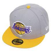 Boné New Era Aba Reta 5950 NBA Lakers Tone Basic