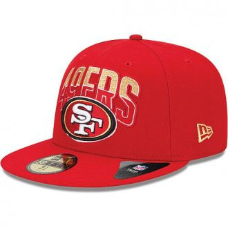 Boné New Era Aba Reta 5950 NFL 49ers Draft Team