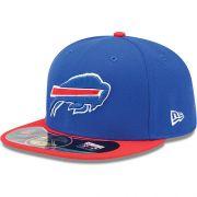 Boné New Era Aba Reta 5950 NFL Bills Game