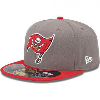 Boné New Era Aba Reta 5950 NFL Buccaneers Game