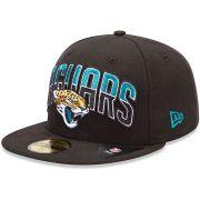 Boné New Era Aba Reta 5950 NFL Jaguars Draft Team