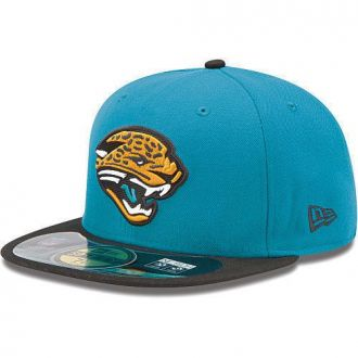 Boné New Era Aba Reta 5950 NFL Jaguars Game
