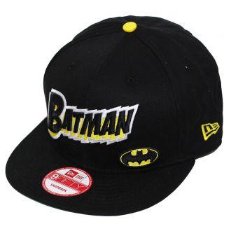 Boné New Era Aba Reta 950 SN Batman Character