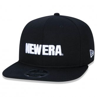 Boné New Era Aba Reta 950 SN Brand OF Sign Moletom Preto