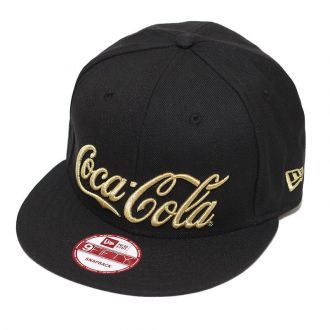 Boné New Era Aba Reta 950 SN Coca-Cola Gold