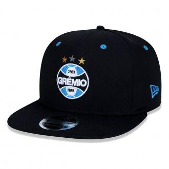 Boné New Era Aba Reta 950 SN Futebol Grêmio OF Basic
