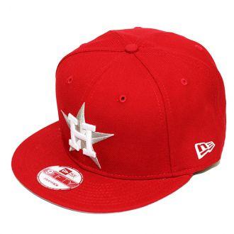 Boné New Era Aba Reta 950 SN MLB Astros Colors 2 Vermelho