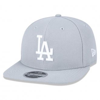 Boné New Era Aba Reta 950 SN MLB Los Angeles OF Colors Cinza