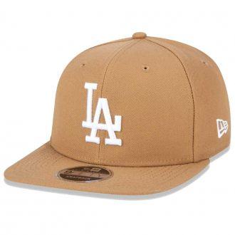 Boné New Era Aba Reta 950 SN MLB Los Angeles OF Colors Marrom Claro