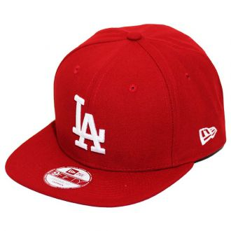 Boné New Era Aba Reta 950 SN MLB Los Angeles OF Colors Vermelho