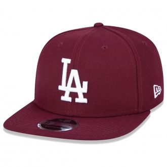 Boné New Era Aba Reta 950 SN MLB Los Angeles OF Colors Vinho