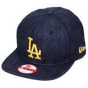 Boné New Era Aba Reta 950 SN MLB Los Angeles OF Denim Azul