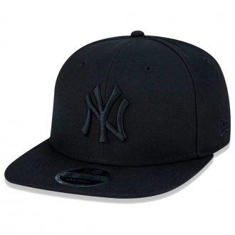 Boné New Era Aba Reta 950 SN MLB NY Yankees OF Blackout