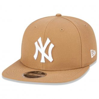 Boné New Era Aba Reta 950 SN MLB NY Yankees OF Colors Marrom Claro