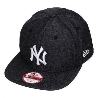 Boné New Era Aba Reta 950 SN MLB NY Yankees OF Denim Preto