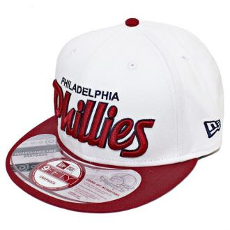 Boné New Era Aba Reta 950 SN MLB Phillies Team Script