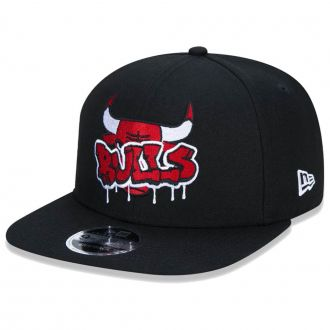 Boné New Era Aba Reta 950 SN NBA Chicago Bulls OF Graffiti