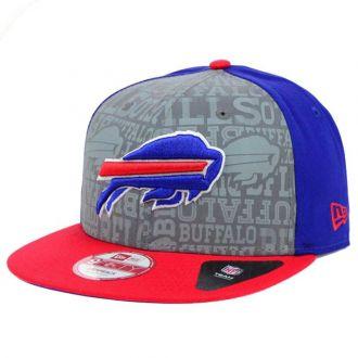 Boné New Era Aba Reta 950 SN NFL Bills Draft Reflective