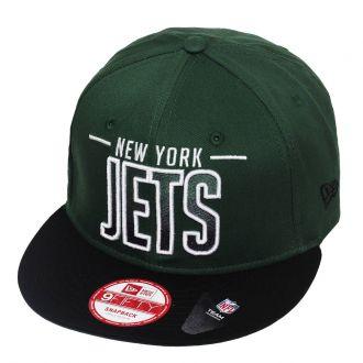 Boné New Era Aba Reta 950 SN NFL Jets Team Fade
