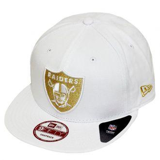 Boné New Era Aba Reta 950 SN NFL Raiders Team Hasher