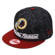 Boné New Era Aba Reta 950 SN NFL Redskins Lightning