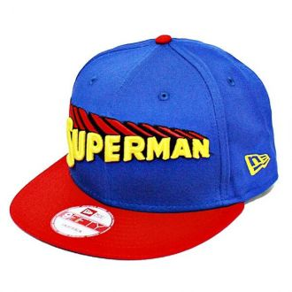 Boné New Era Aba Reta 950 SN Superman Title Front