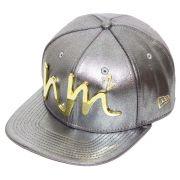 Boné New Era Aba Reta 950 ST NM2 MC Guimê Metal Gold