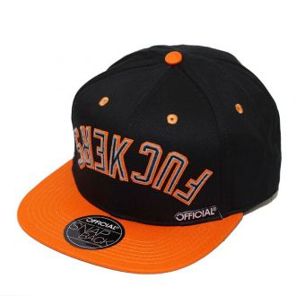 Boné Official Aba Reta Snapback Effers Nation Preto