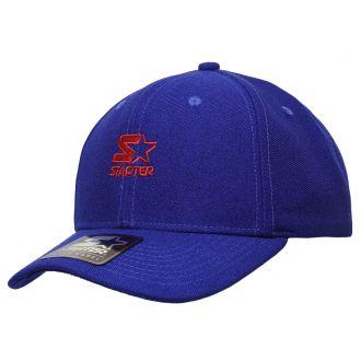 Boné Starter Aba Curva Snapback Mini Logo Colors Azul
