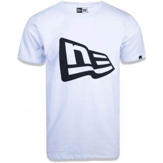 Camiseta New Era Brand Flag Basic Branco