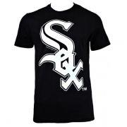 Camiseta New Era MLB Chicago Sox Big Logo Preto