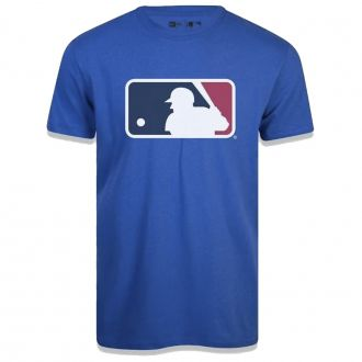 Camiseta New Era MLB Flag Logo Essentials Azul