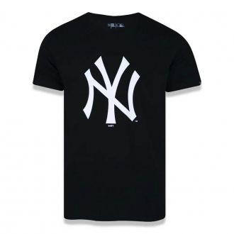 Camiseta New Era MLB NY Yankees Essentials Preto