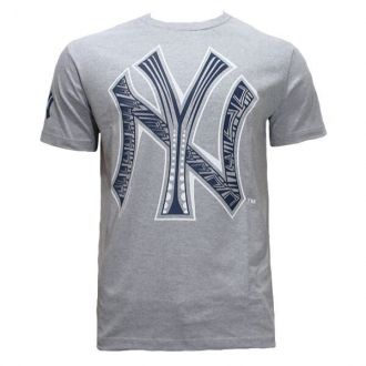 Camiseta New Era MLB NY Yankees Etnico Cinza