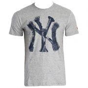 Camiseta New Era MLB NY Yankees Skull
