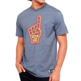 Camiseta New Era NBA Cleveland Cavaliers Lets Go