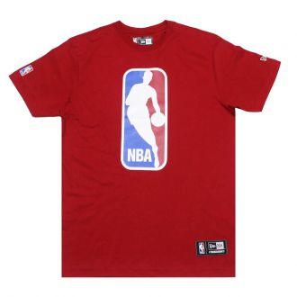 Camiseta New Era NBA Flag Logo Colors Vermelho