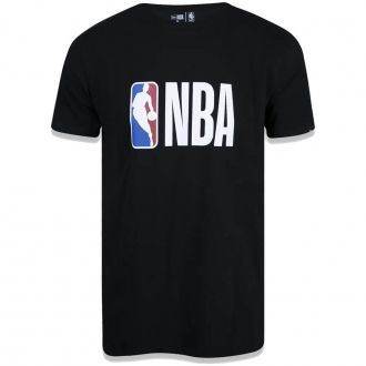 Camiseta New Era NBA Flag Logo Essentials Preto