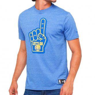 Camiseta New Era NBA Golden State Warriors Lets Go