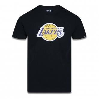 Camiseta New Era NBA Los Angeles Lakers Basic Team Preta