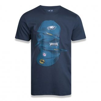 Camiseta New Era NFL Eagles Dance Caps