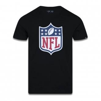Camiseta New Era NFL Flag Logo Basic Time Preto