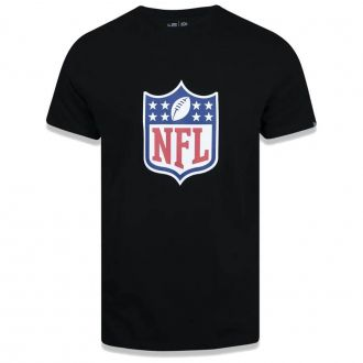 Camiseta New Era NFL Flag Logo Essentials Preto