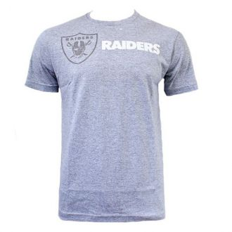 Camiseta New Era NFL Raiders Hue Cinza