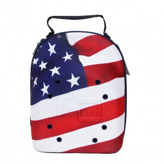 Case New Era Cap 6 Carrier Brand Flag American