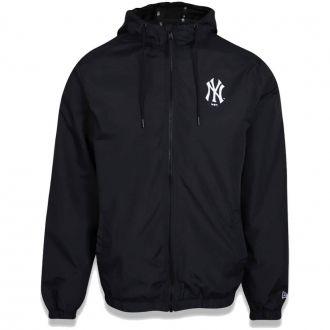 Jaqueta New Era MLB NY Yankees Corta Vento Basic Preto