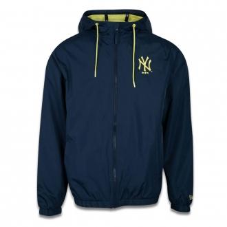Jaqueta New Era MLB NY Yankees Corta Vento Colors Marinho