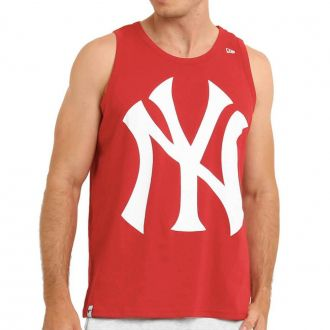 Regata New Era MLB NY Yankees Big Logo Vermelho