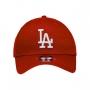 Boné New Era Aba Curva 3930 MLB Los Angeles Colors Vermelho