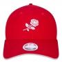 Boné New Era Aba Curva 920 ST Brand Girl Flowers Vermelho